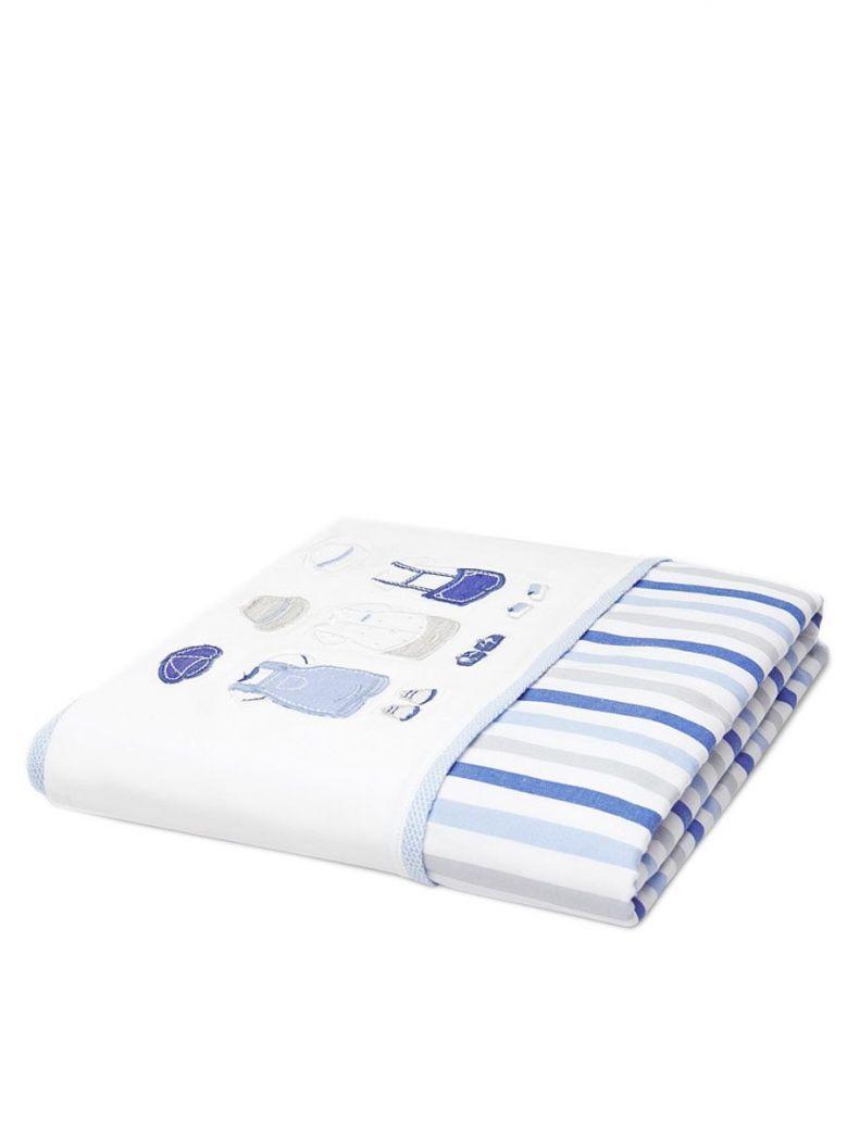 Mayoral Blue Print Baby Blanket