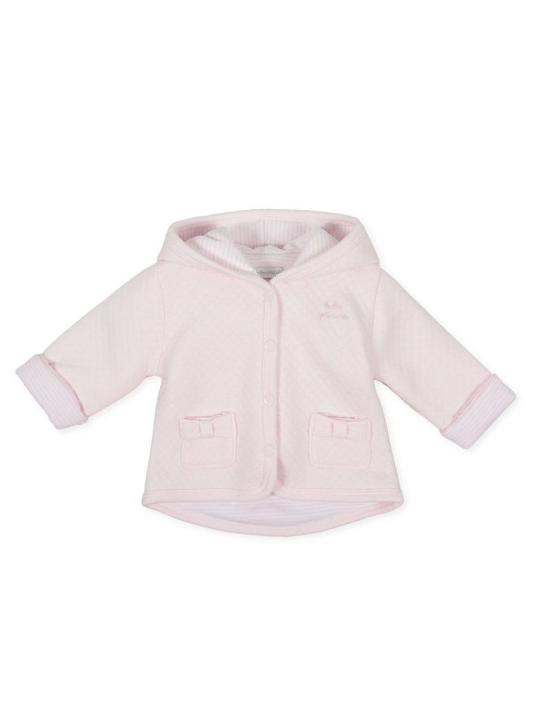 Tutto Piccolo Pink Quilted Jacket