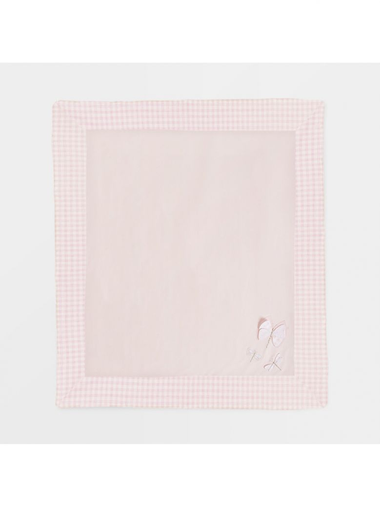 Mayoral Pink Butterfly Detail Blanket in Gift Box