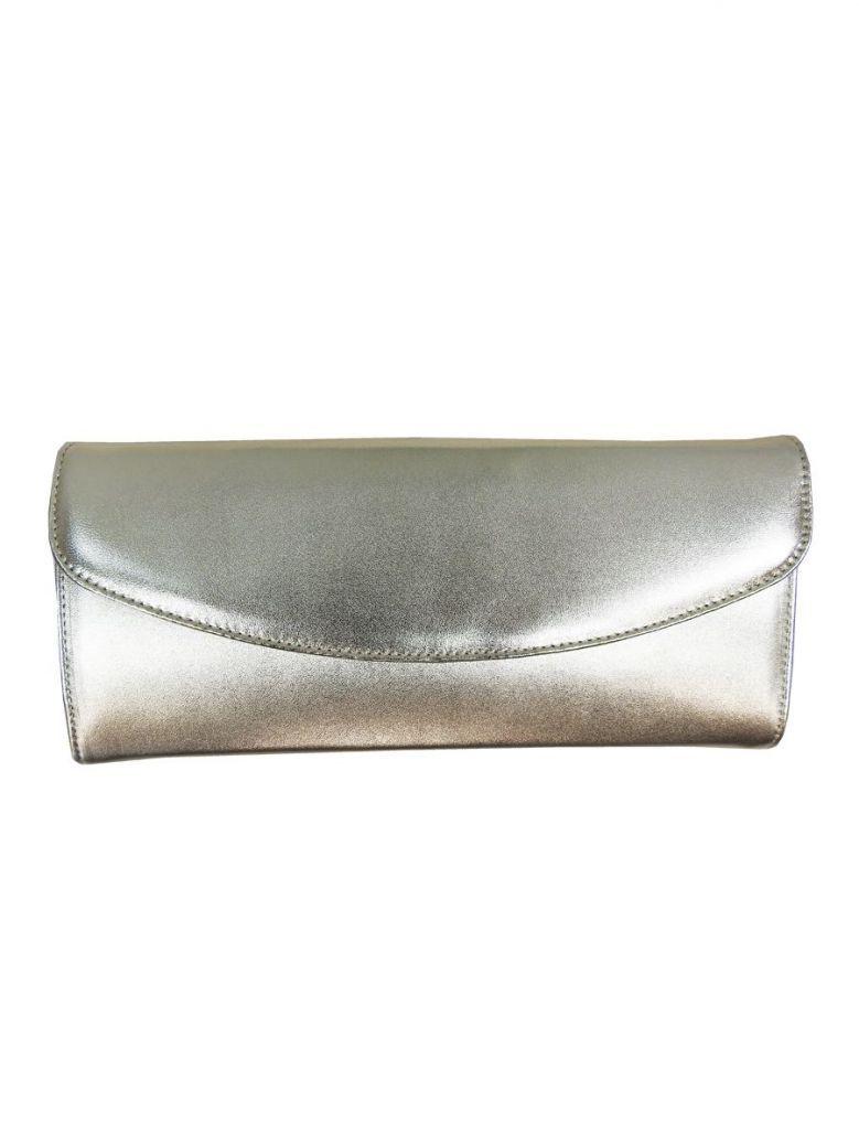 Peter Kaiser Metallic Gold Clutch Bag