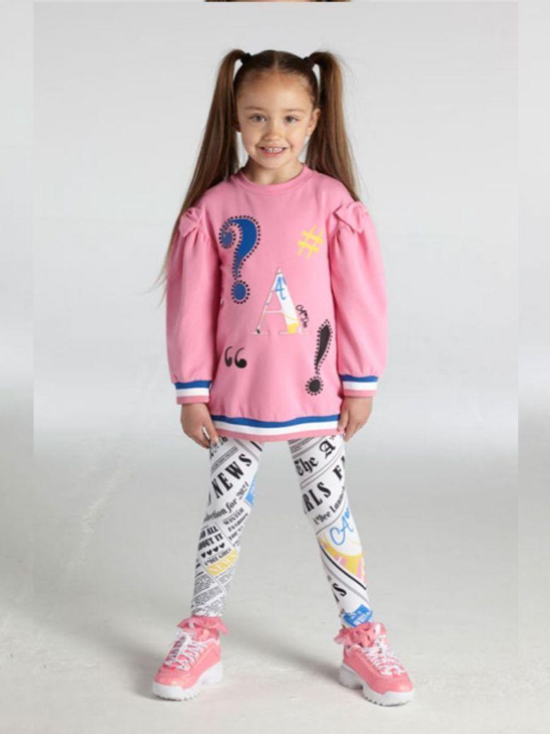 A Dee Samantha Symbols Legging Set Pink