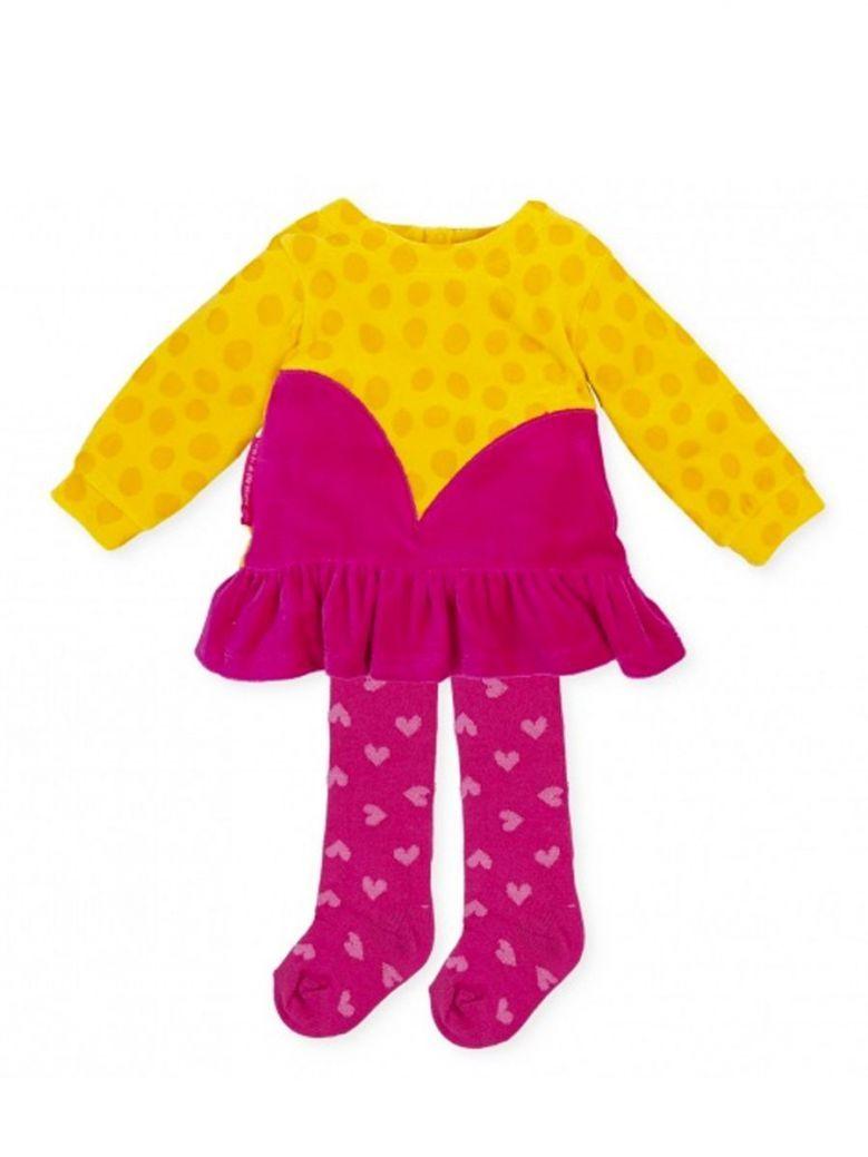 Agatha Ruiz Heart Dress Yellow