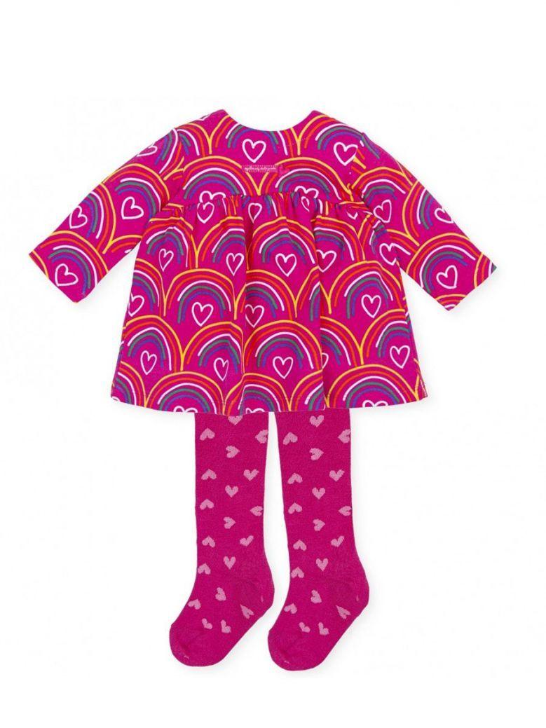 Agatha Ruiz Rainbow Dress Pink