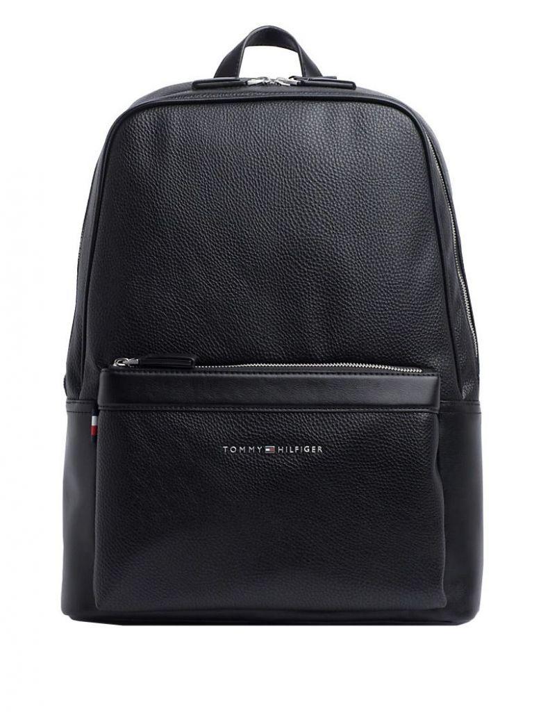 Tommy Hilfiger Black Downtown Laptop Backpack