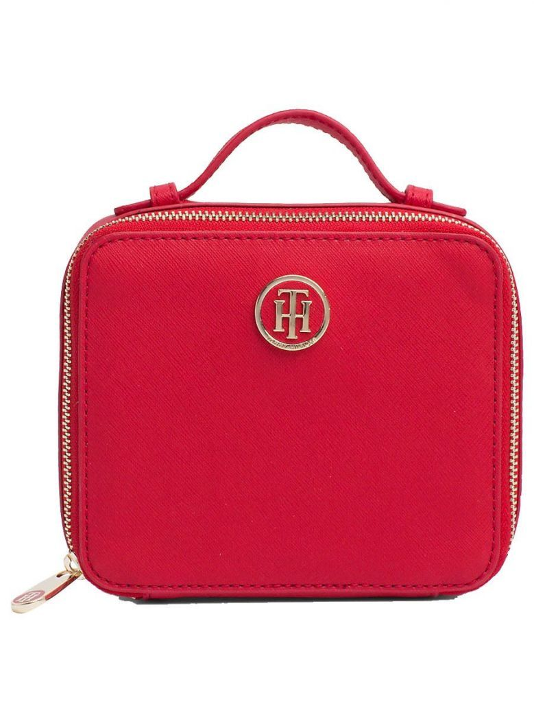 Tommy Hilfiger Red Mirror Toiletry Bag