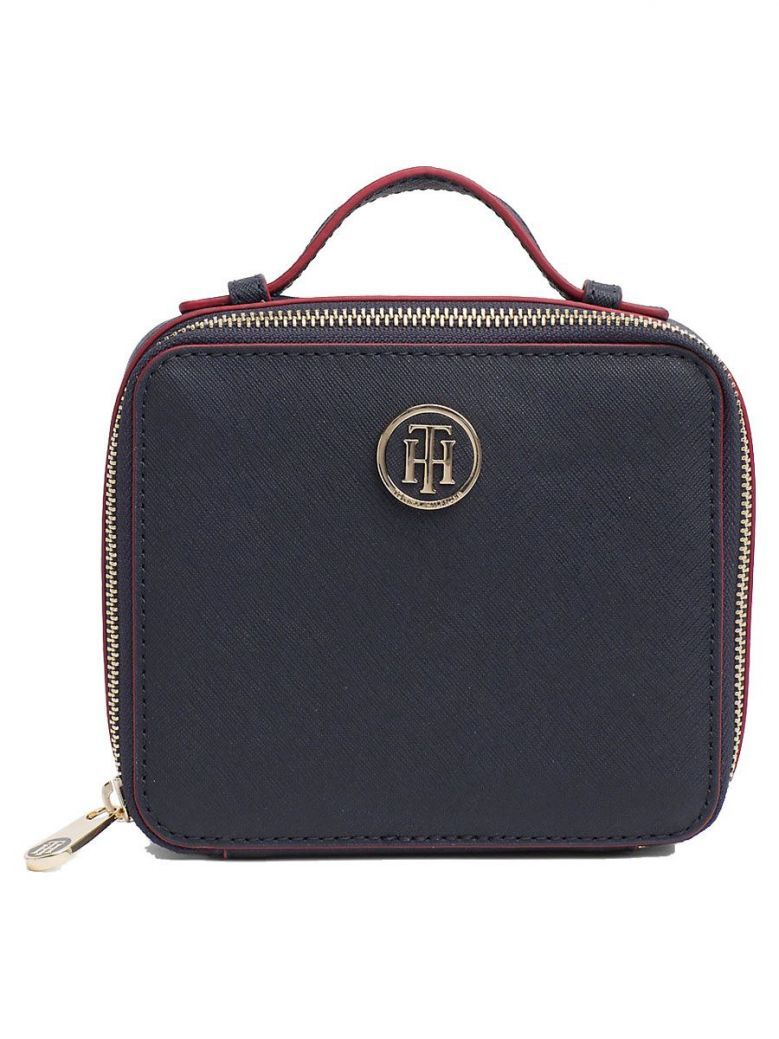 Tommy Hilfiger Navy Mirror Toiletry Bag