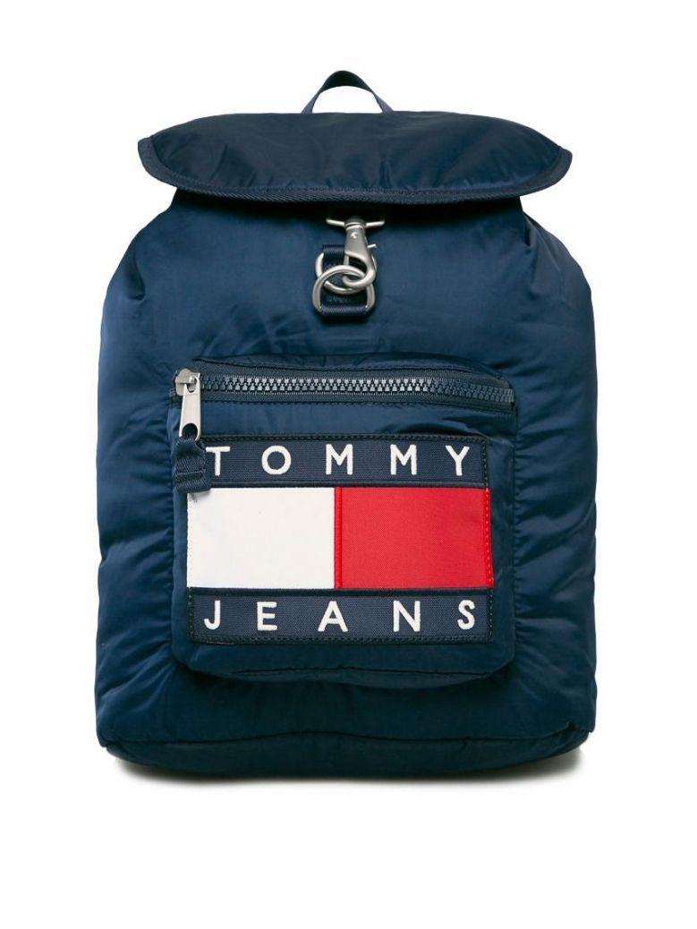Tommy Jeans Heritage Blue Logo Backpack