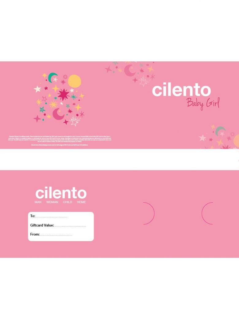 Cilento Designer Wear Baby Girl Gift Card