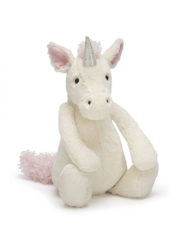 Jellycat Cream Medium Bashful Unicorn