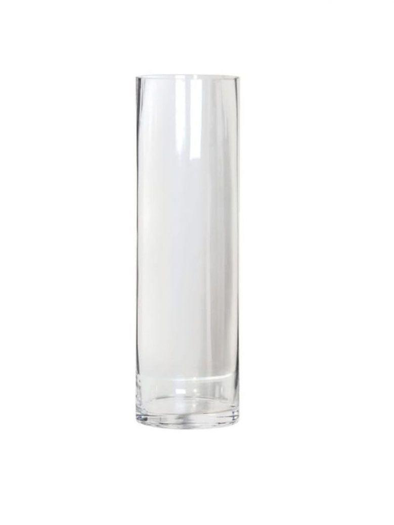 Glass Cylinder Vase- 40cm