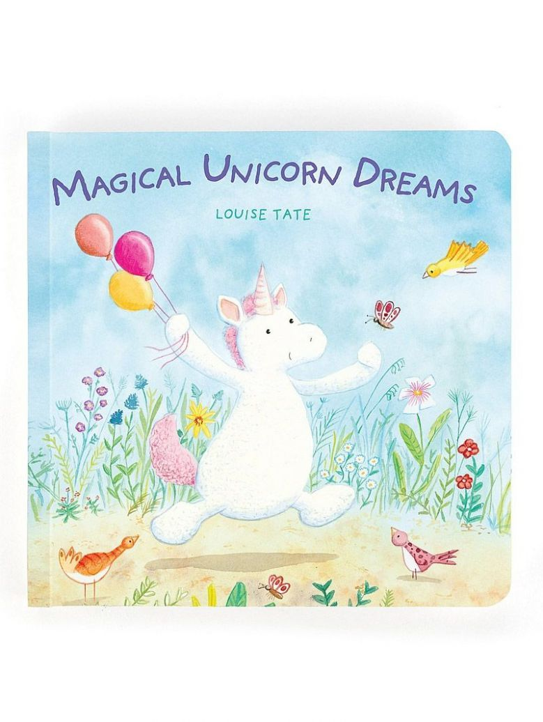Jellycat 'Magical Unicorn Dreams' Book