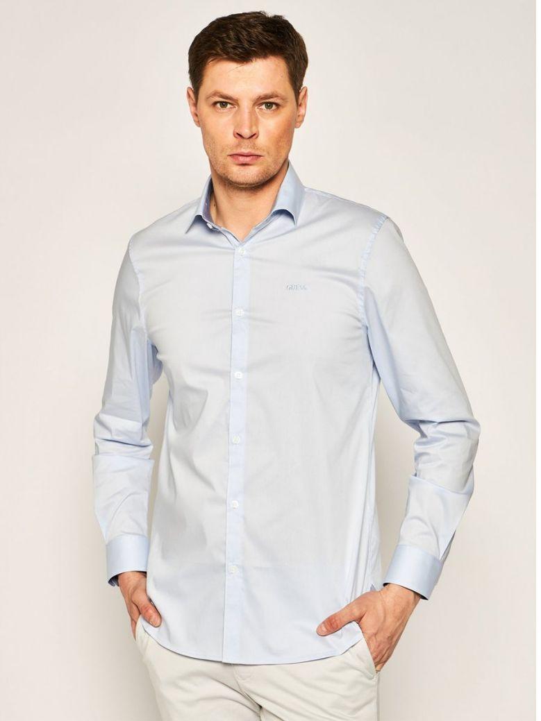 Guess Blue Slim Fit Shirt