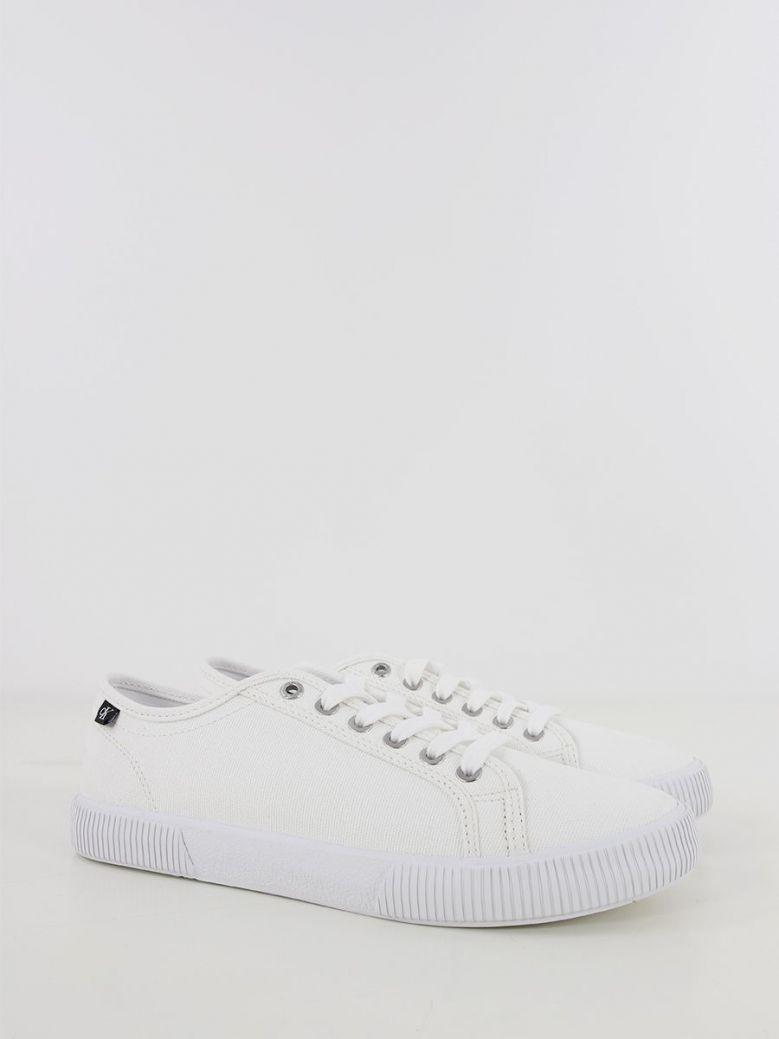 Calvin Klein Jeans Vulcanised Sneaker White
