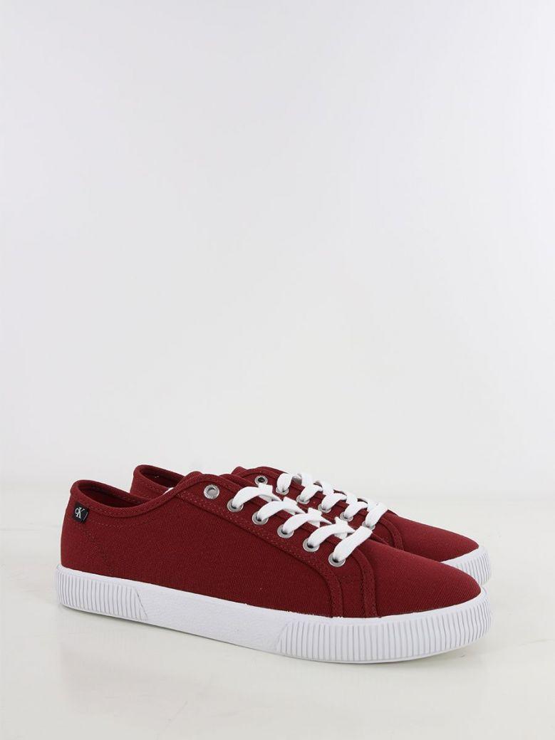 Calvin Klein Jeans Vulcanised Sneaker Burgundy