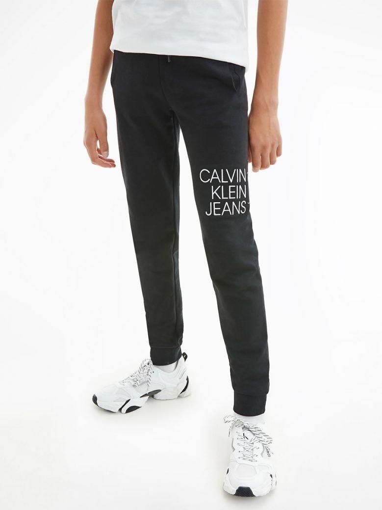 Calvin Klein Jeans Organic Cotton Joggers Black