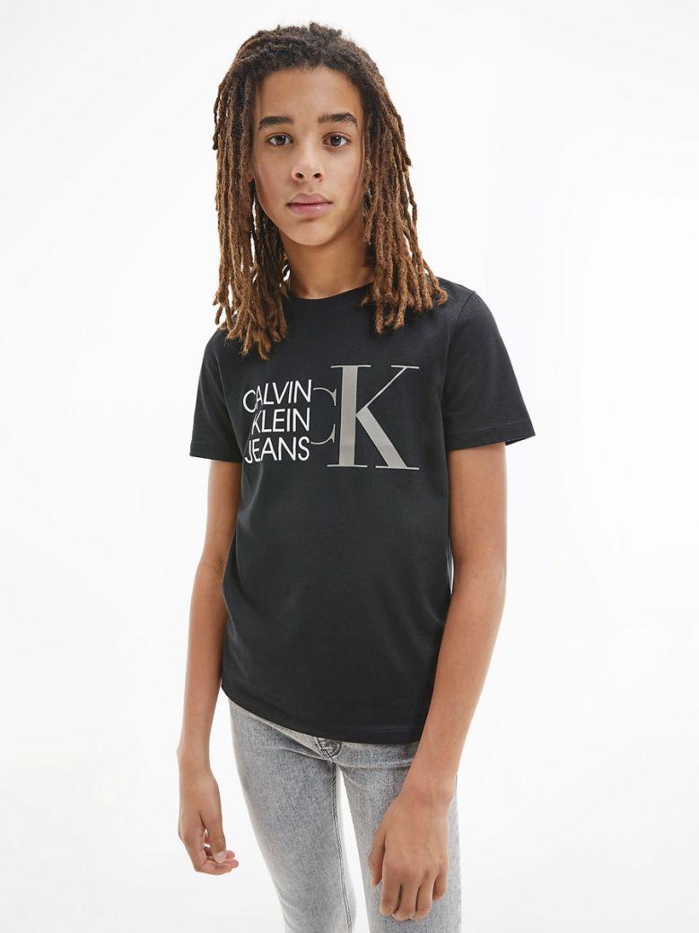 Calvin Klein Jeans Organic Cotton Logo T-Shirt Black