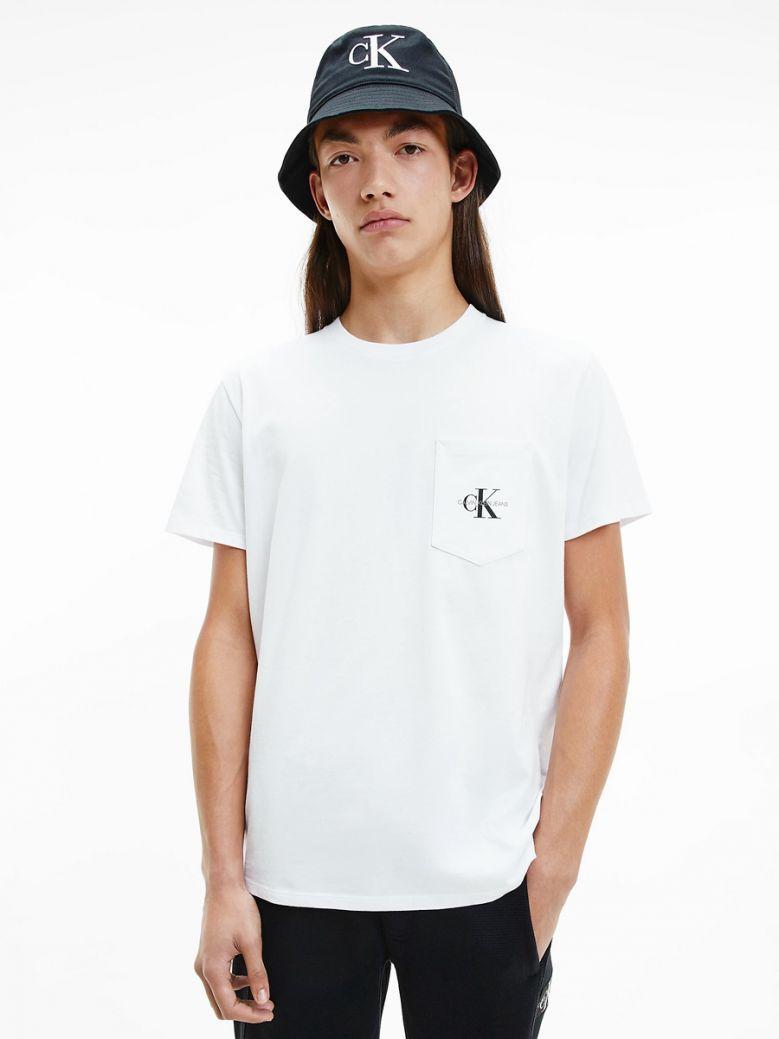 Calvin Klein Jeans Organic Cotton Logo T-Shirt White