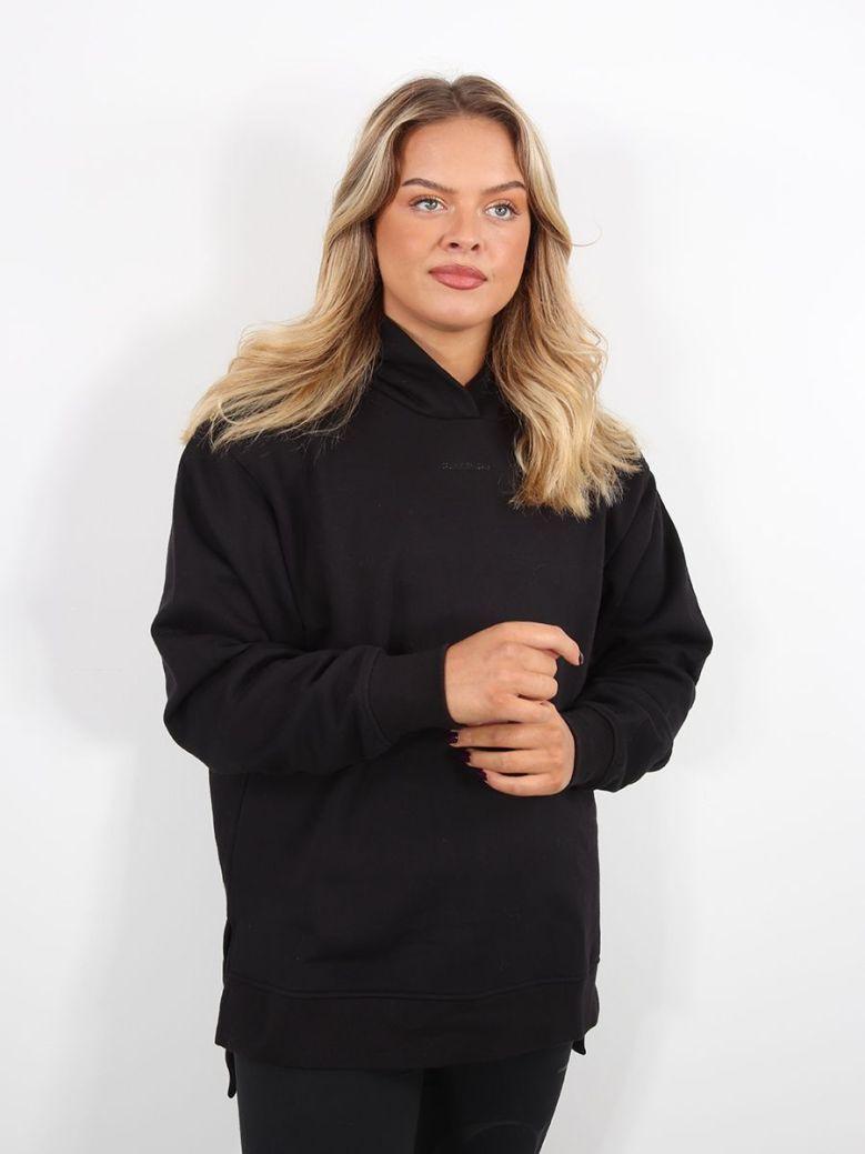 Calvin Klein Jeans Oversized Hoodie Black