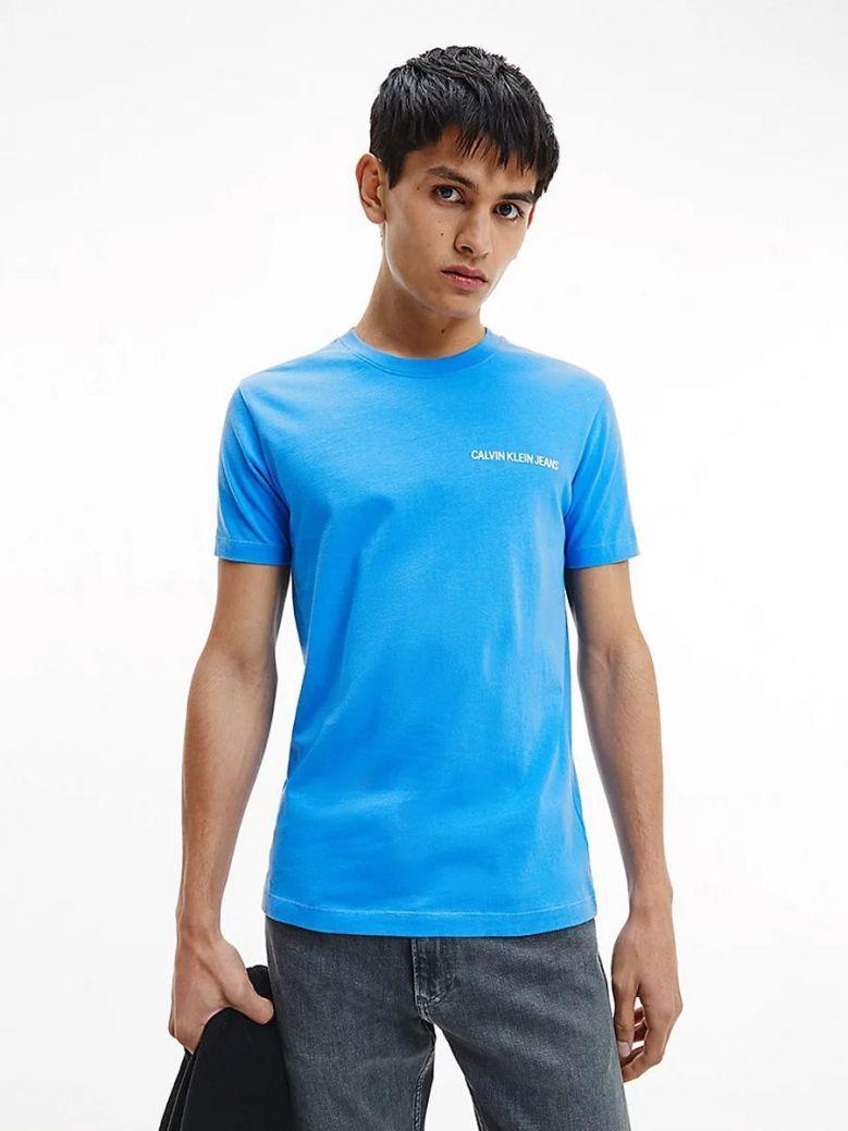 Calvin Klein Jeans Muscle Fit Logo T-Shirt Blue
