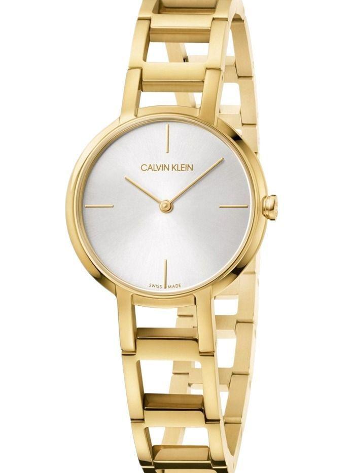 Calvin Klein 'Cheers' Ladies Gold Open Link Strap Watch
