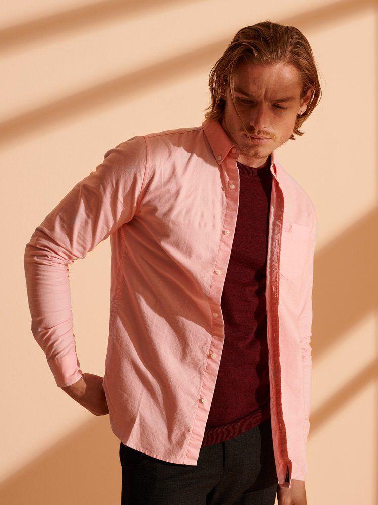 Superdry Pink Classic University Oxford Shirt