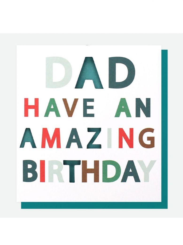 Caroline Gardner Amazing Birthday Card For Dad