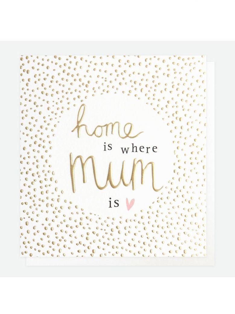 Caroline Gardner Home Is Where Mum is Card