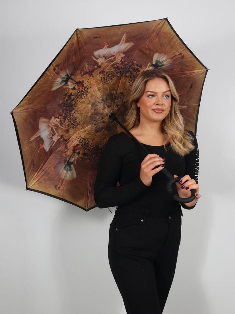 Cilento Woman Reverse Fold Umbrella Ballet Dancers