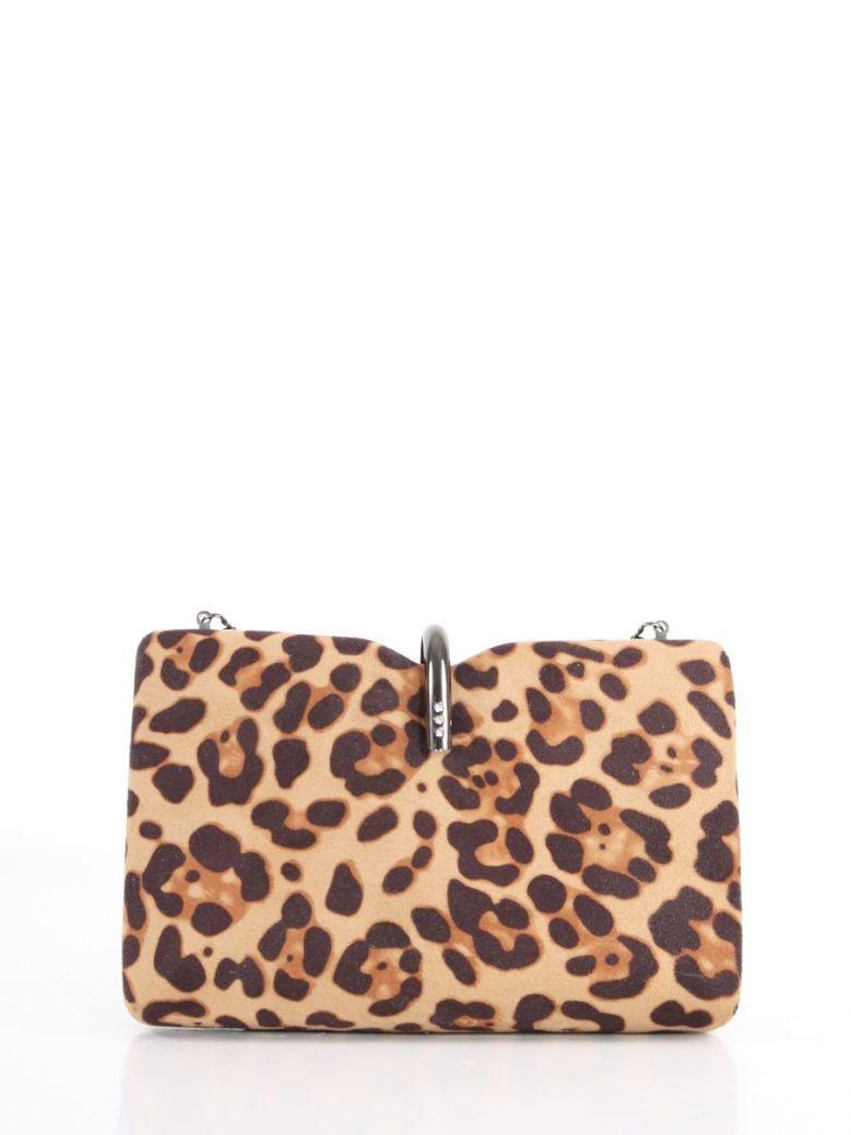 Cilento Woman Rikki Leopard Clutch Bag