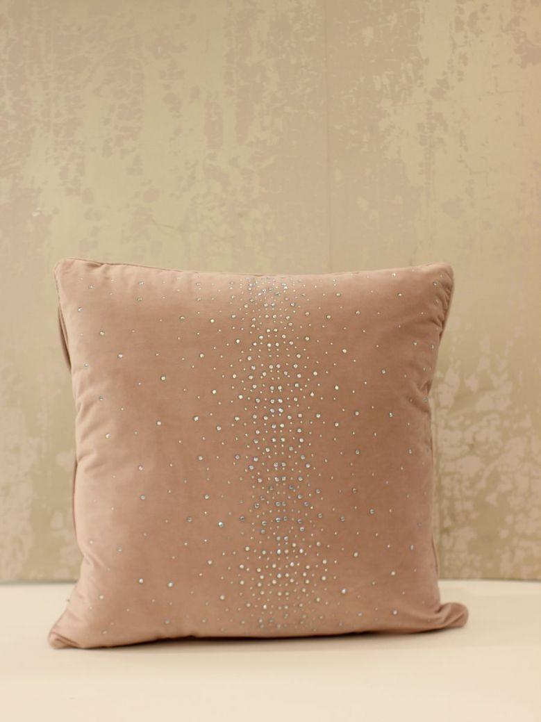 45x45 Blush Pink Sparkle Cushion