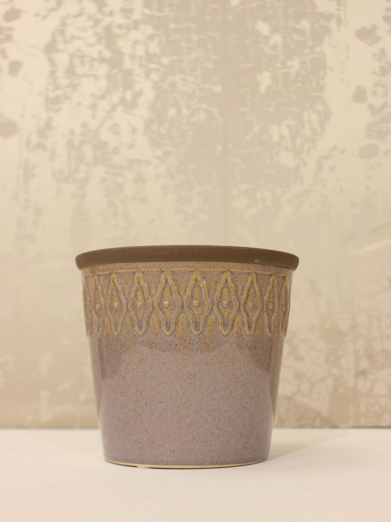 Pink Ceramic Planter