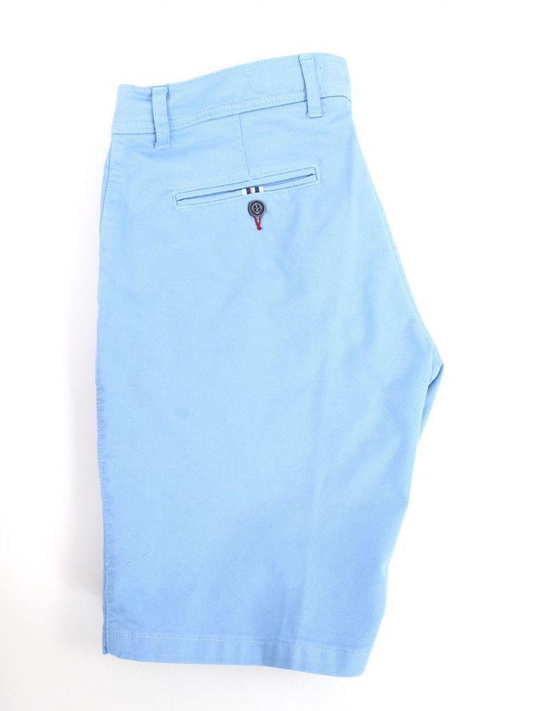 Dario Beltran Chino Shorts Light Blue
