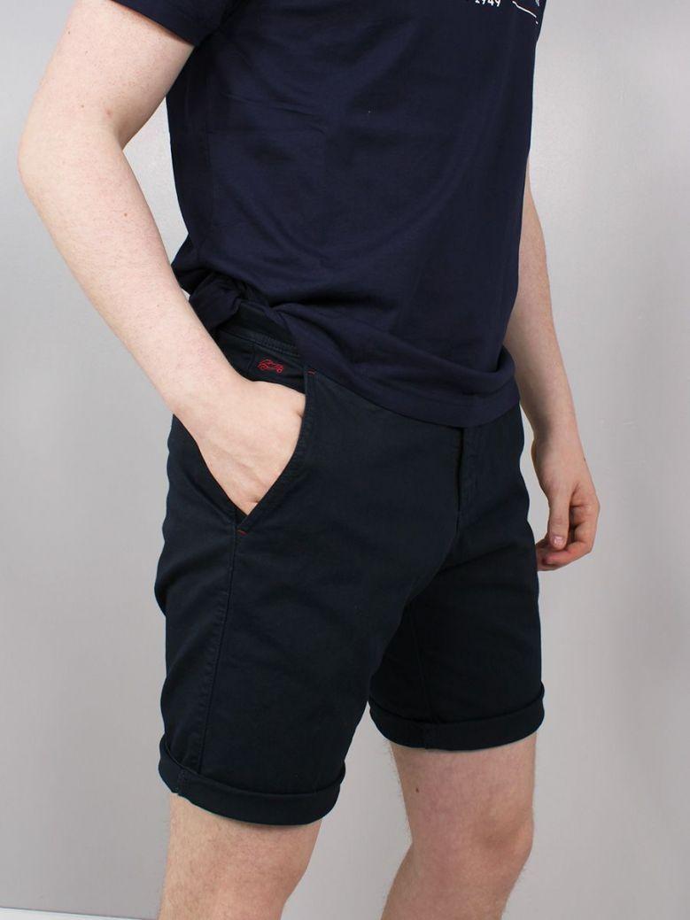 Dario Beltran Chino Shorts Navy