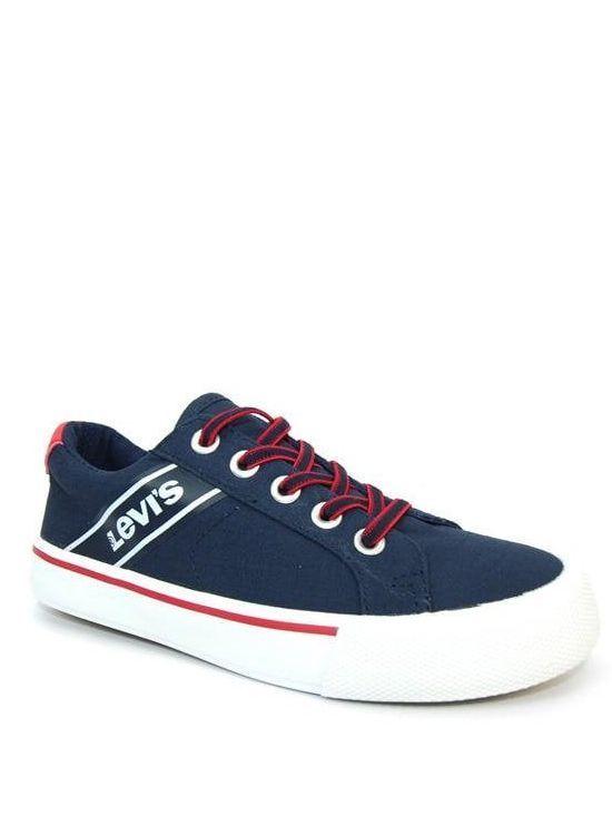 Levis Kingston Navy Blue Canvas Shoe