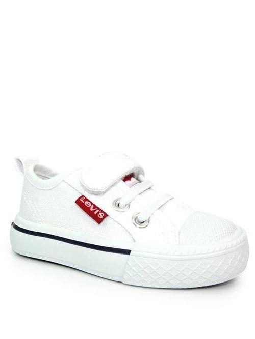 Levis Maui White Canvas Shoe