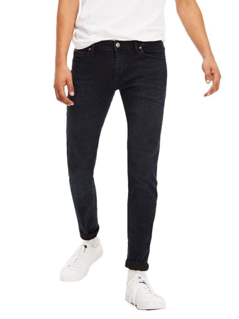 Tommy Jeans Cobble Black Comfort Dark Wash Skinny Fit Jeans