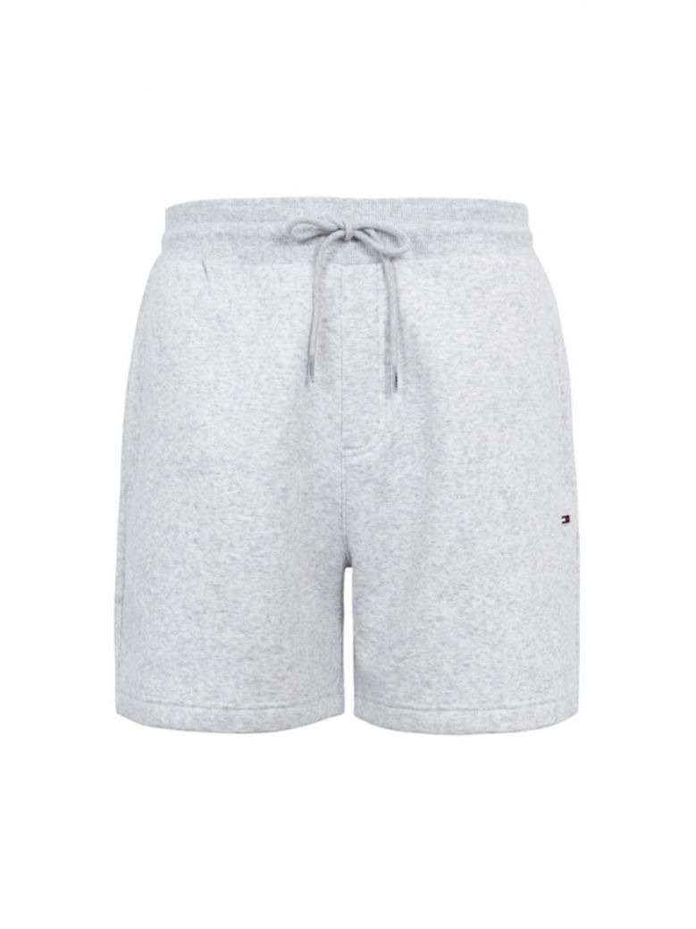 Tommy Jeans Men Sliver Grey Heather Classic Beach Shorts
