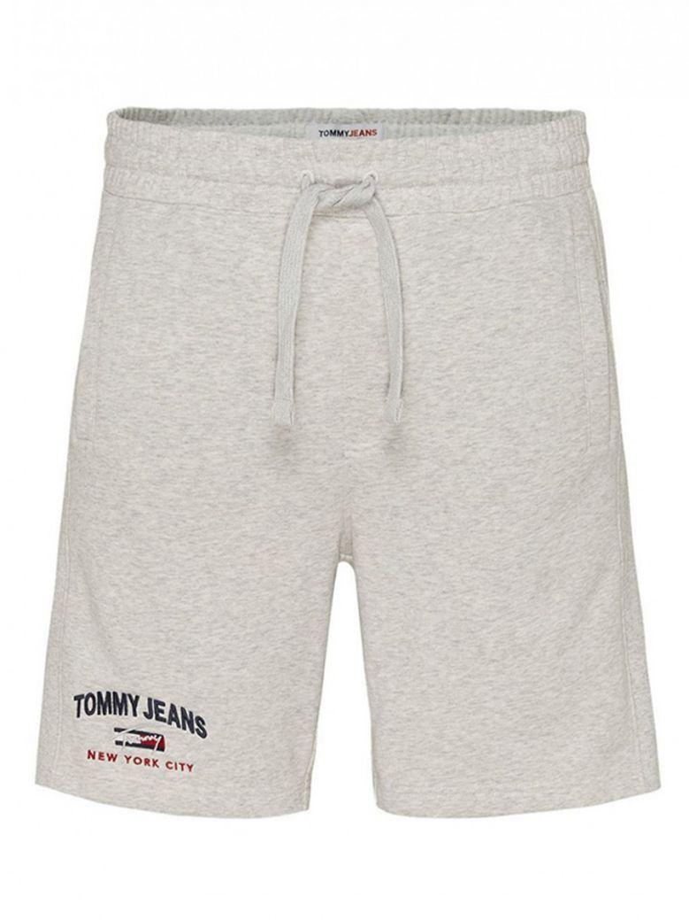 Tommy Jeans Mens Grey Logo Shorts