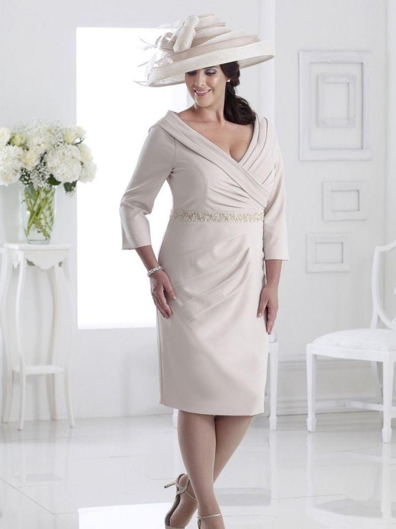 Dressed Up Off The Shoulder Embellished Waistband Dress, Latte, Style DU298