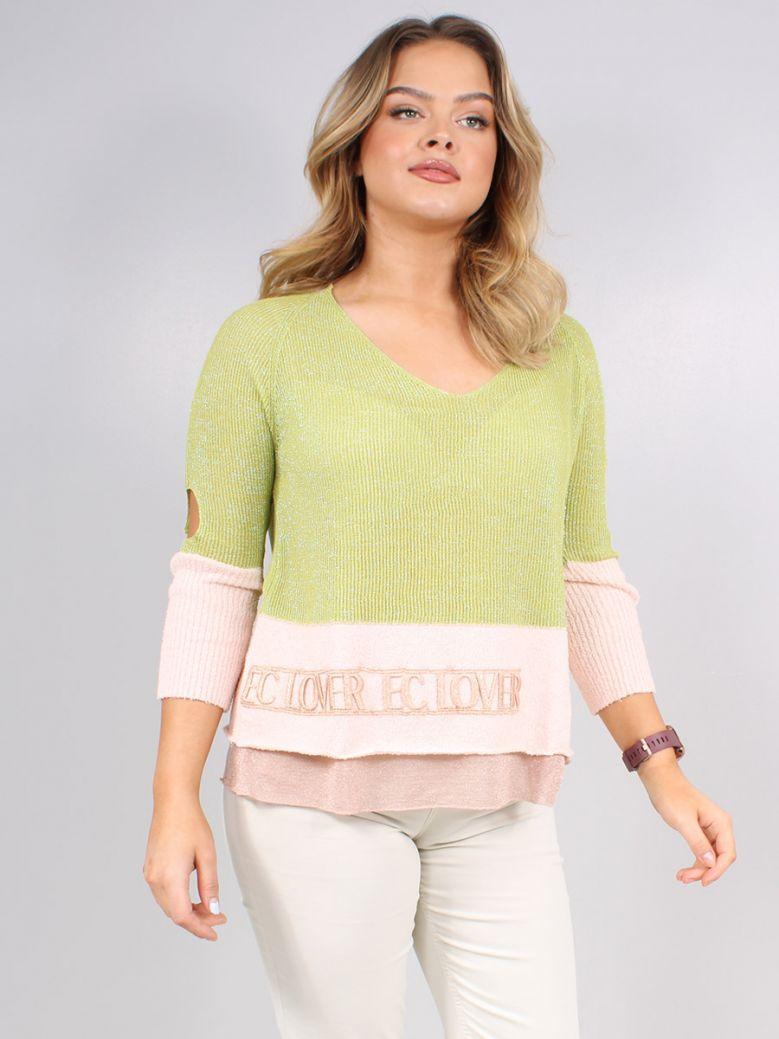 Elisa Cavaletti Green Bellezza Sweater