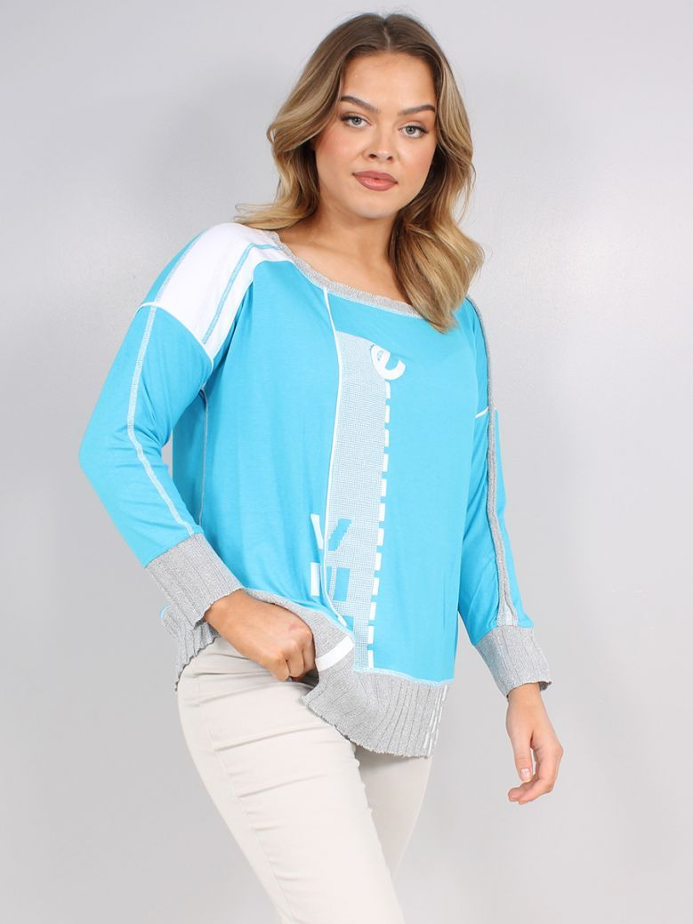 Elisa Cavaletti Turquoise Gioco T-Shirt