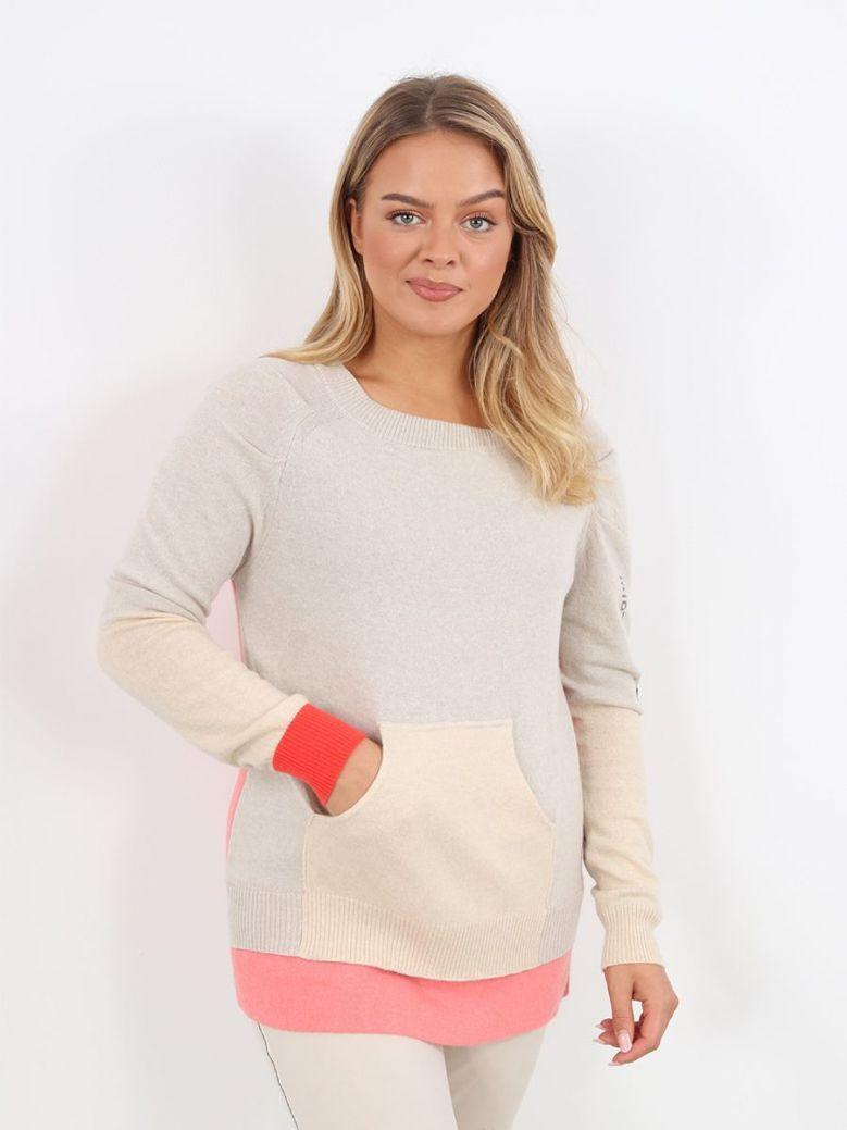 Elisa Cavaletti Knit Pullover Taupe