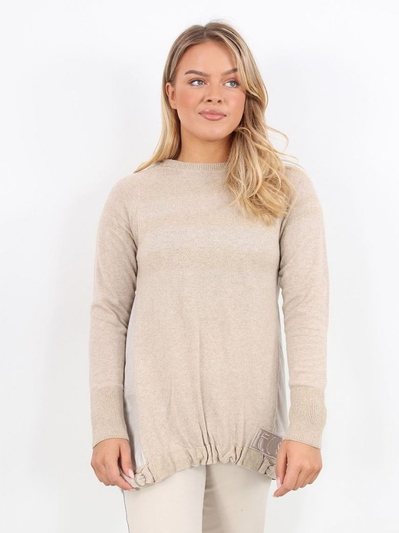 Elisa Cavaletti Knitted Top Gold