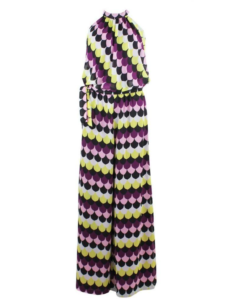 Emme By Marella Print Jumpsuit Purple