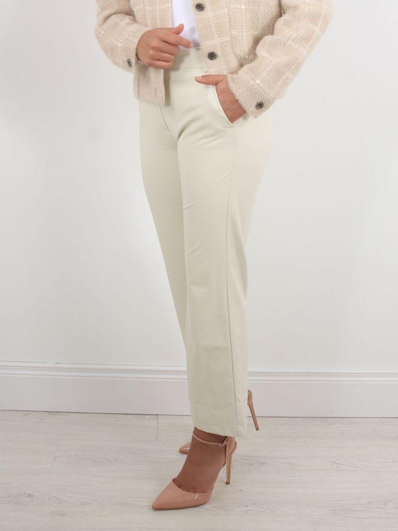 Emme by Marella Spilla Trouser Cream