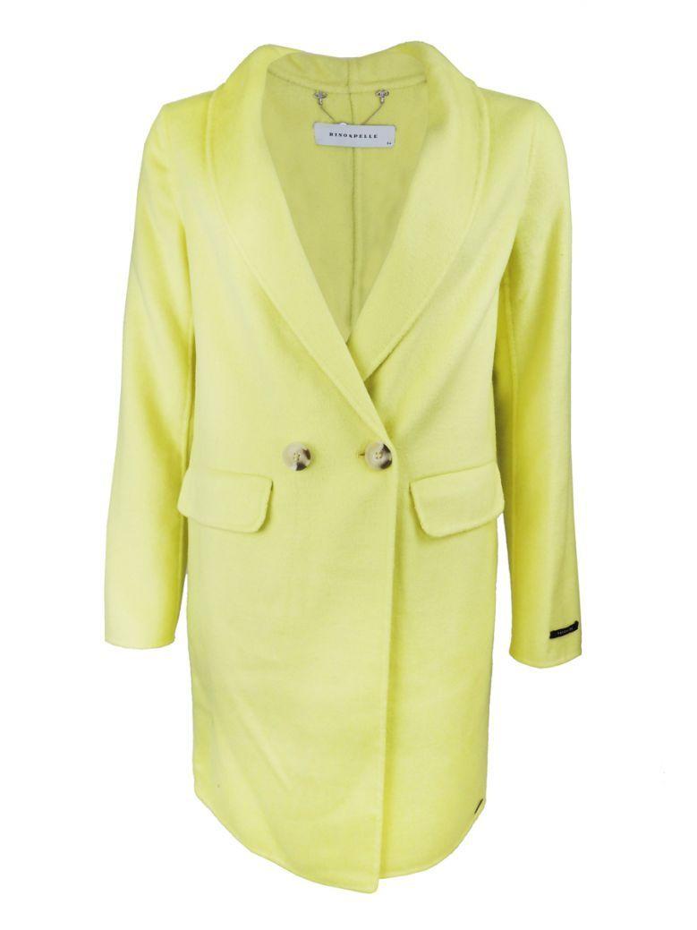 Rino & Pelle Soft Lime Wool Blend Coat