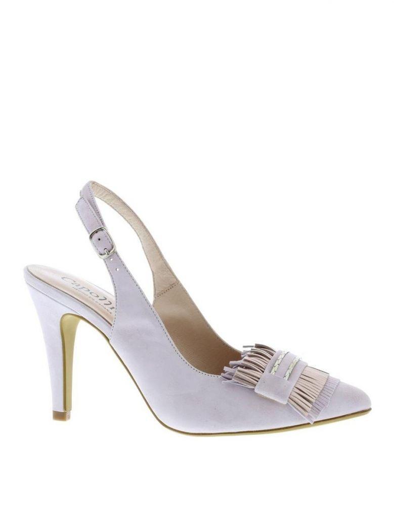Capollini Lilac Farrah Slingback Shoe