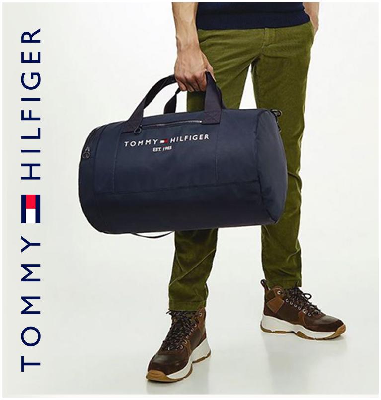 Tommy Hilfiger Established Duffle Bag Navy