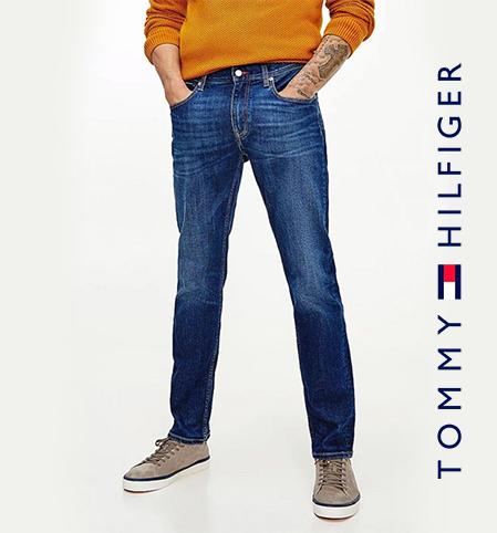 Tommy Hilfiger Denton Straight TH Flex Jeans Kima Indigo