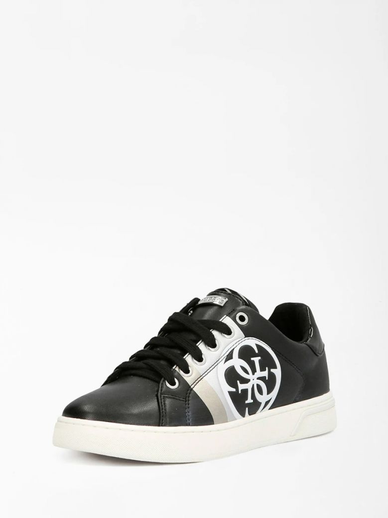 Guess Black Reata 4G Logo Sneaker